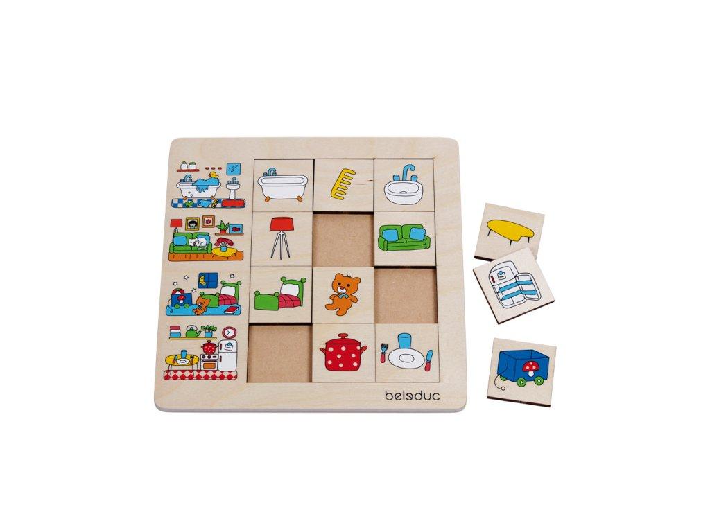 875 beleduc tridici puzzle muj domov