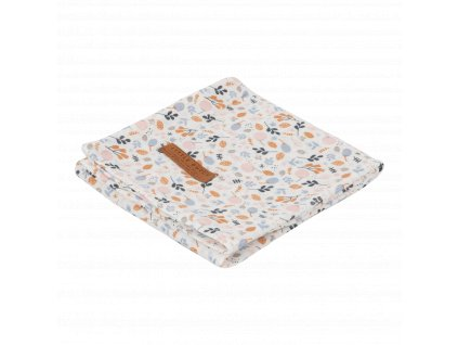 0003624 little dutch swaddle 120 x 120 spring flowers pink 0