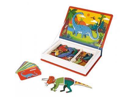J02590 Janod Magnetibook Dinosauri 02