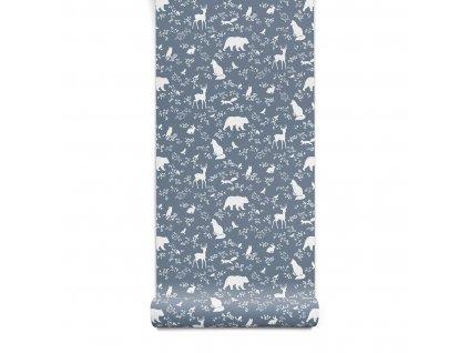 tapeta forest animals 1