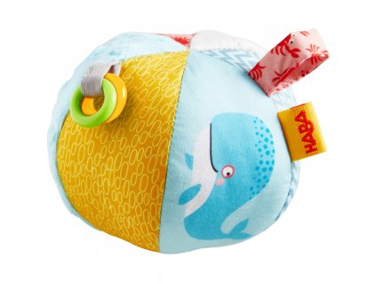 306077 Haba Motoricka hracka Textilna lopta morsky svet 01