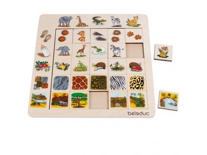 1700 beleduc tridici puzzle savana
