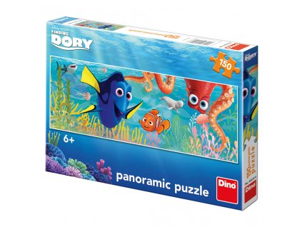 2507 dino dory na cestach 150 panoramatic puzzle