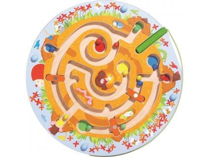 3032 haba magneticky labyrint krtek