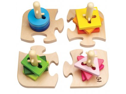 431 hape kreativni nasazovaci puzzle