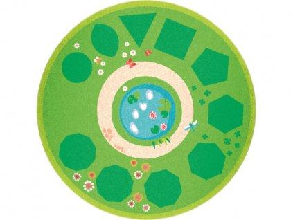 5432 koberec s geometrickymi tvary