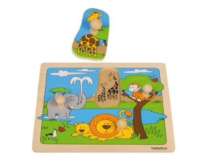 623 beleduc knoflikove puzzle afrika