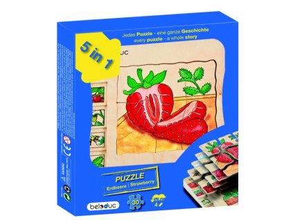 668 beleduc vyvojove vrstvene puzzle jahoda