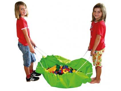 2942 eduplay vak na uklid hracek zeleny
