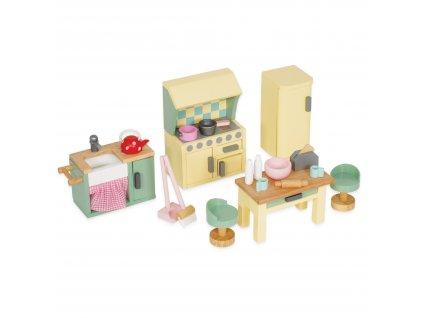 ME059 Daisylane Kitchen Doll House Furniture Wooden Toy