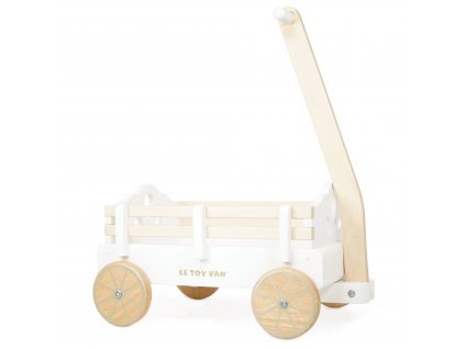 TV602 Pull Along Wagon Wooden Carrying Toys