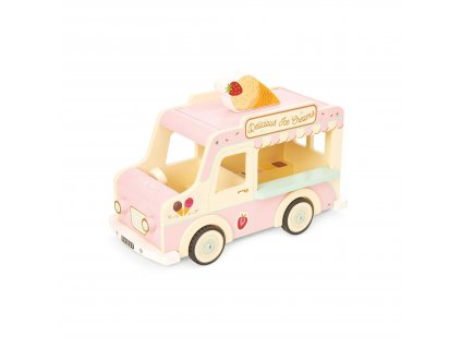 ME083 Ice Cream Van Pink Doll House Wooden Toy
