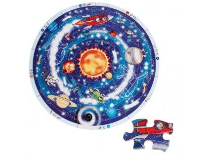 869 beleduc xxl puzzle planety