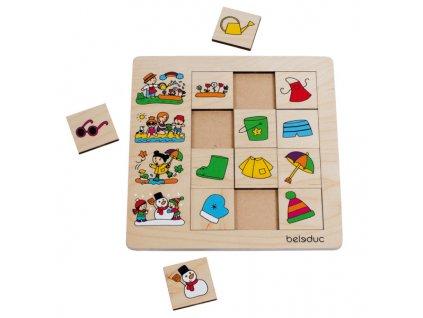 872 beleduc tridici puzzle rocni obdobi