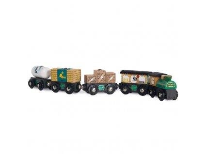 TV711 Green Trains Cargo Set