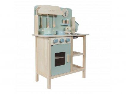 9695 little dutch drevena kuchynka mint