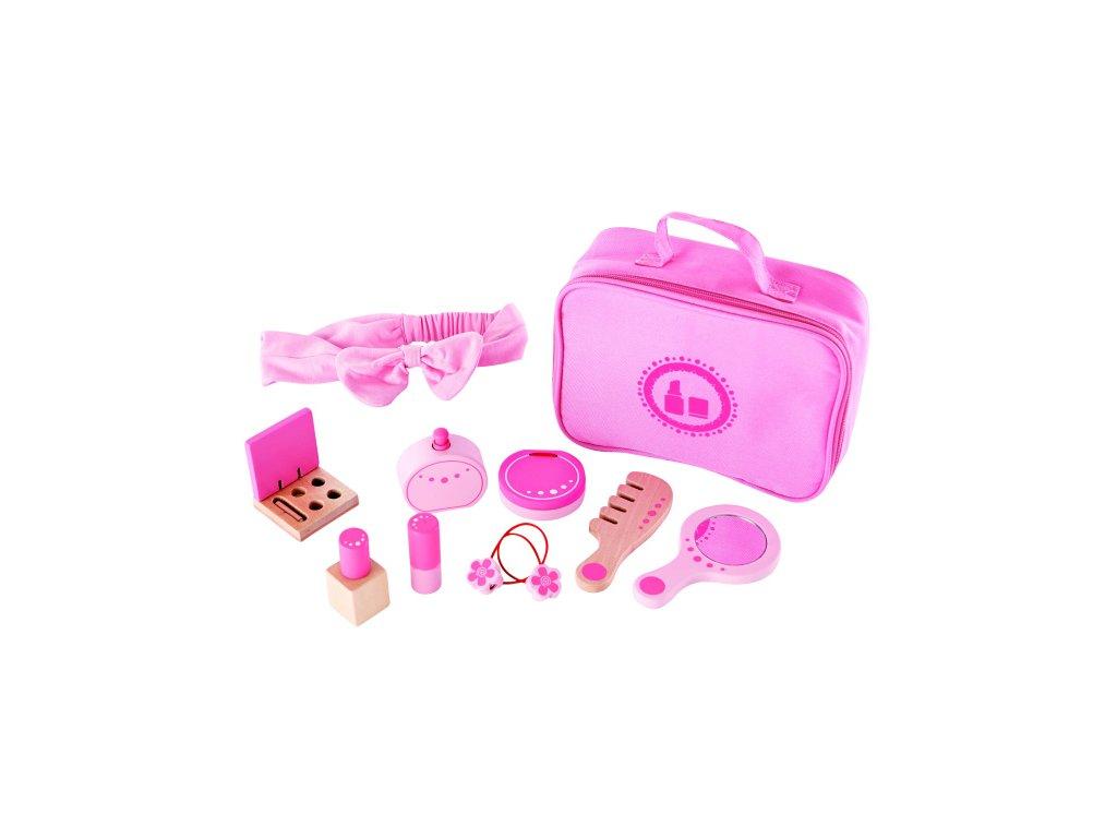 Hape Drevený kufrík pre malé parádnice