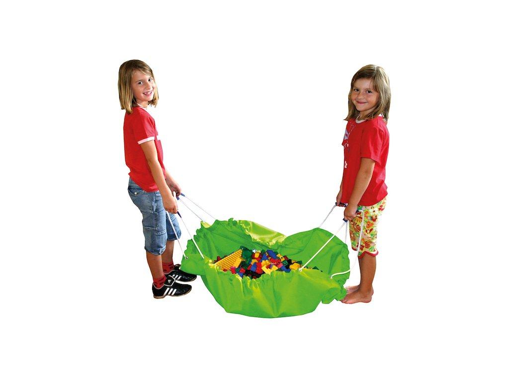 Eduplay Vak na upratovanie hračiek - zelený