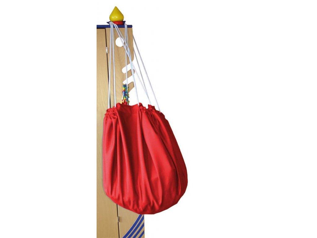 Eduplay Vak na upratovanie hračiek - červený