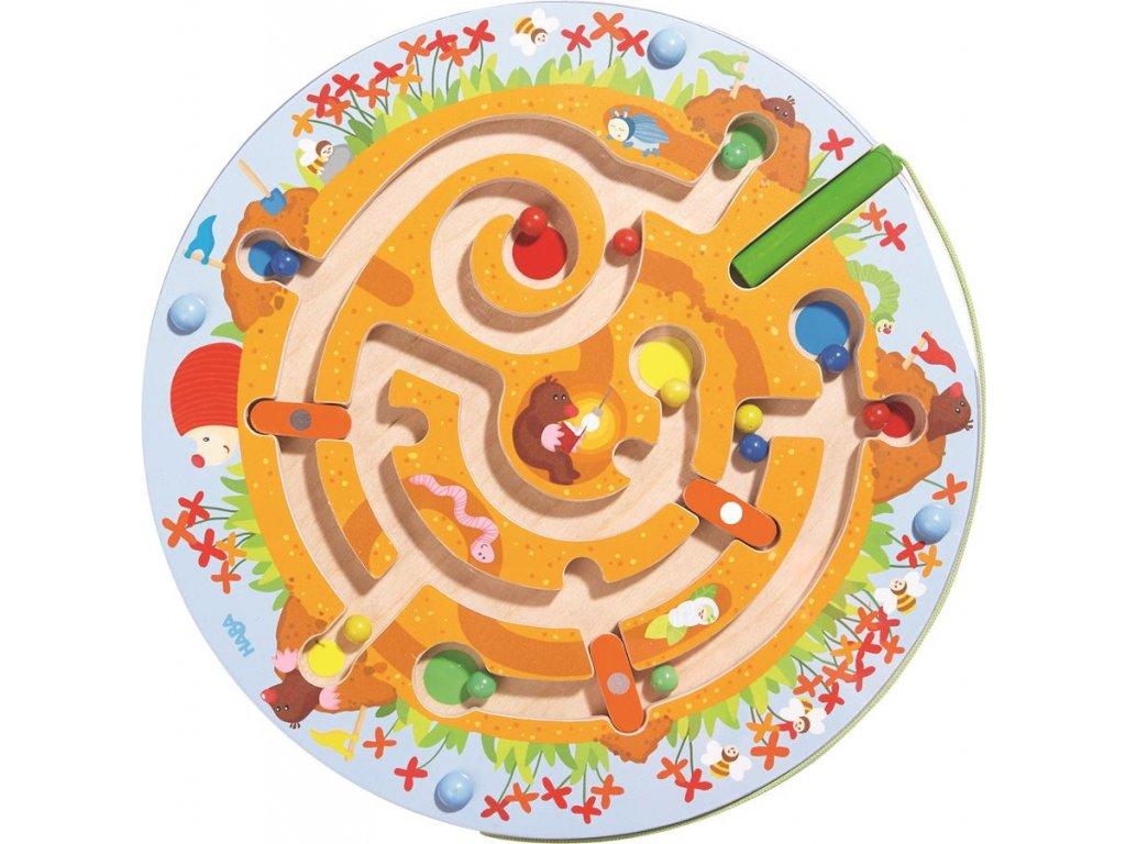 Haba Magnetický labyrint KRTKO