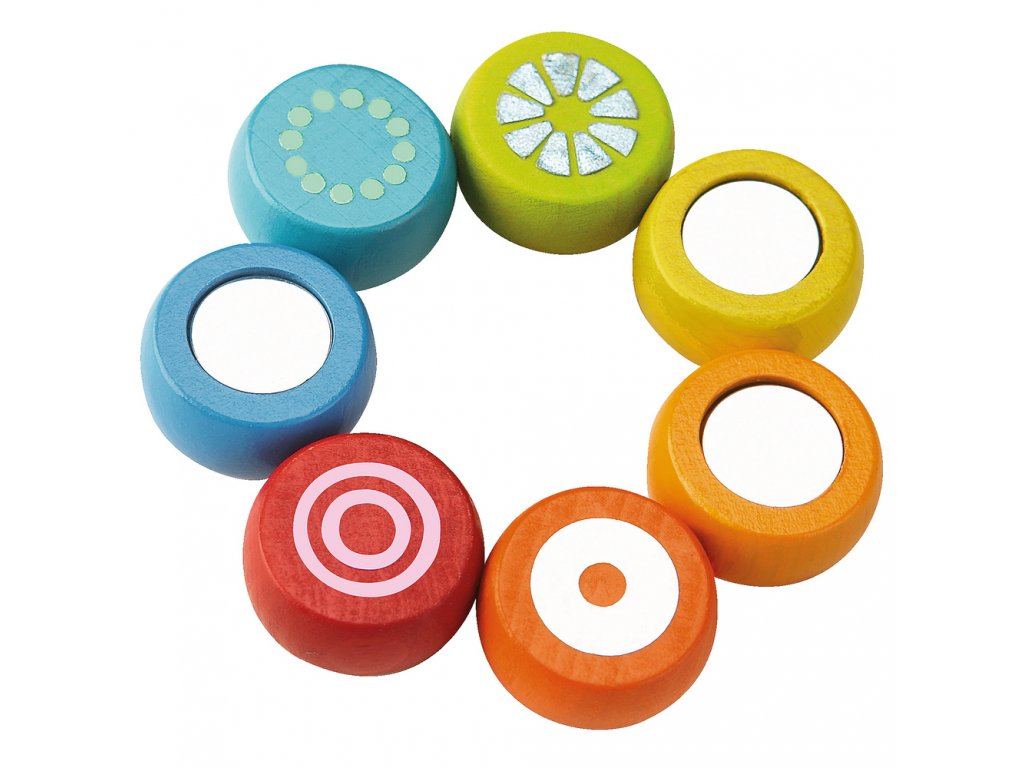 Haba Drevená senzorická hračka DUHA