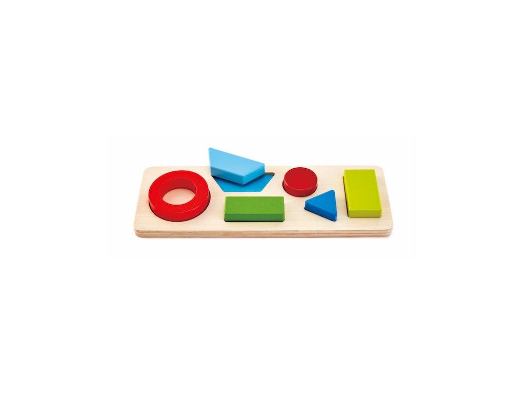 Hape Geometrické drevené puzzle