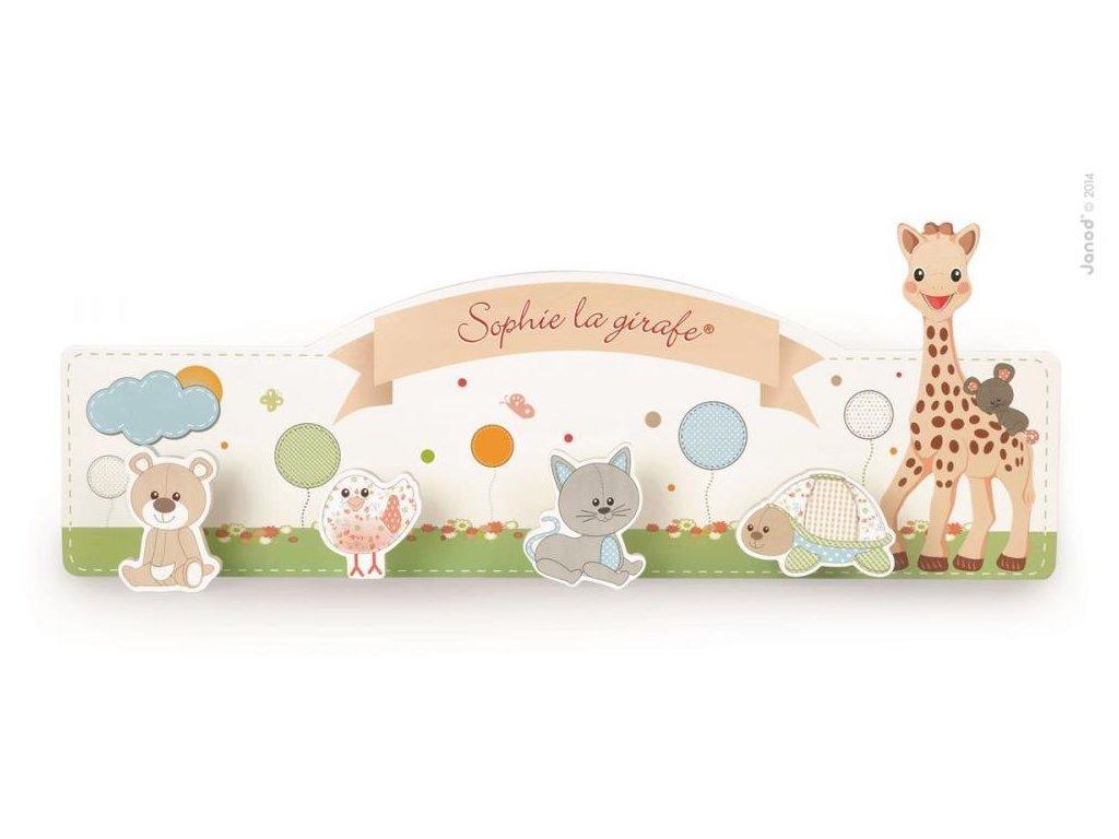 Janod Drevený vešiak Sophie la Girafa