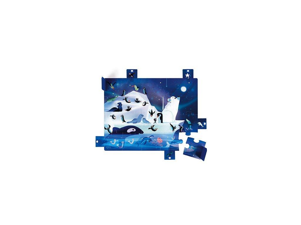 Janod Puzzle Antarktída