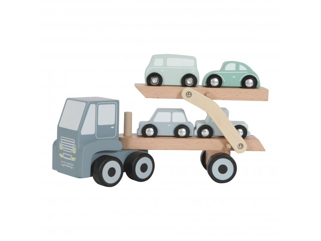 4453 Truck met oplegger 1