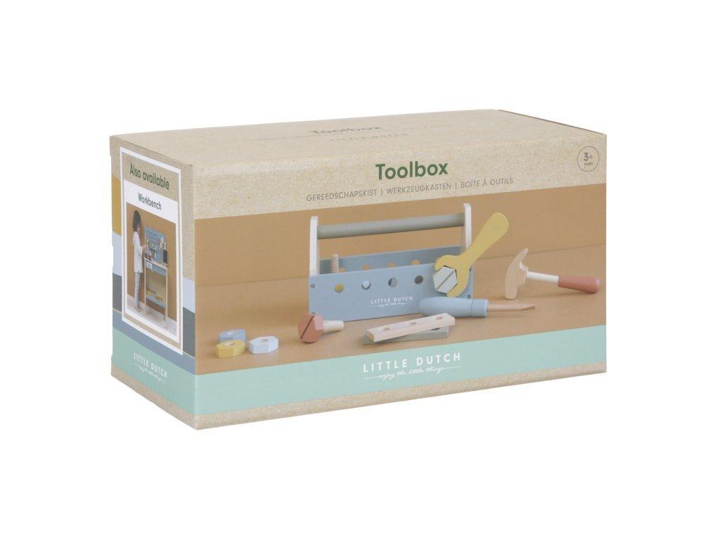 7025 5 little dutch dreveny box na naradi