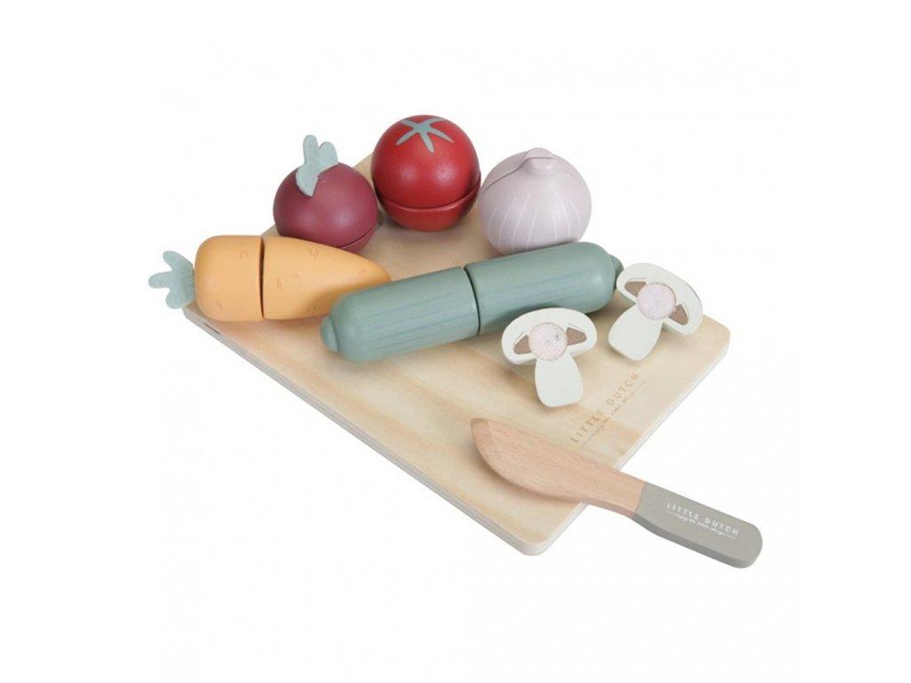 0010344 houten snijset groenten 1000