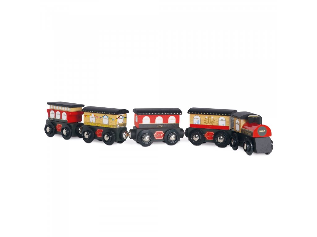TV710 Red Trains Royal Express Set