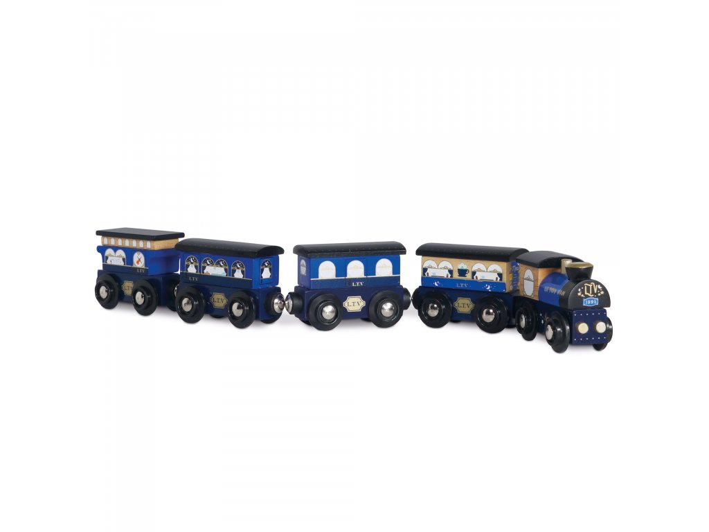 TV712 Blue Trains Midnight Express Set