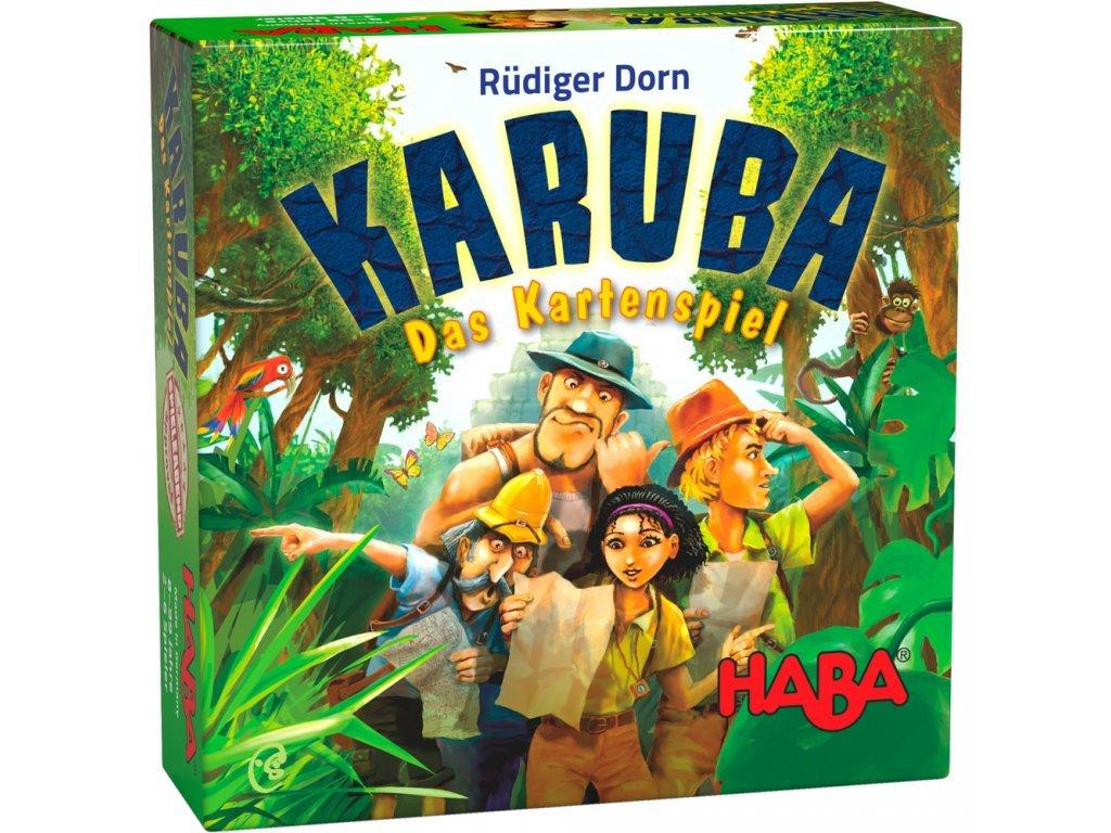 Haba Stolná kartová hra KARUBA