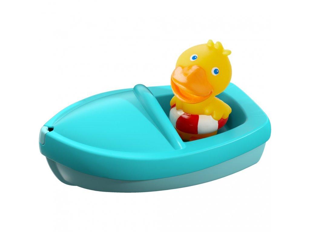 Haba Kačenka v loďke