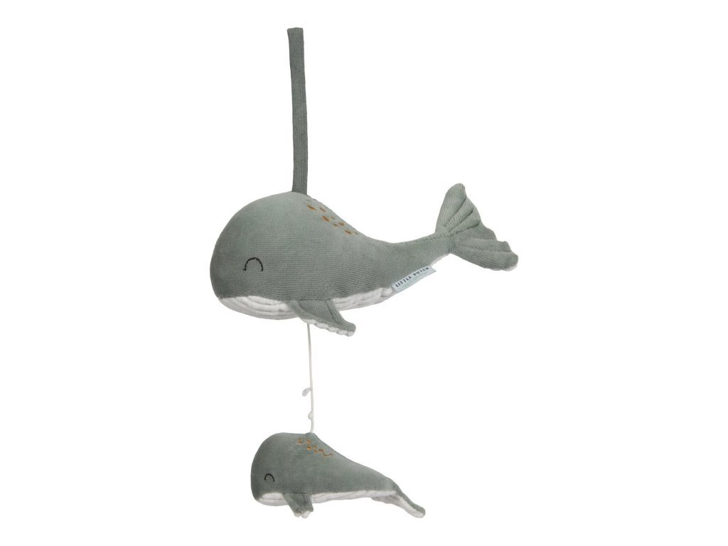 Little Dutch Hrajúci veľryba ocean mint