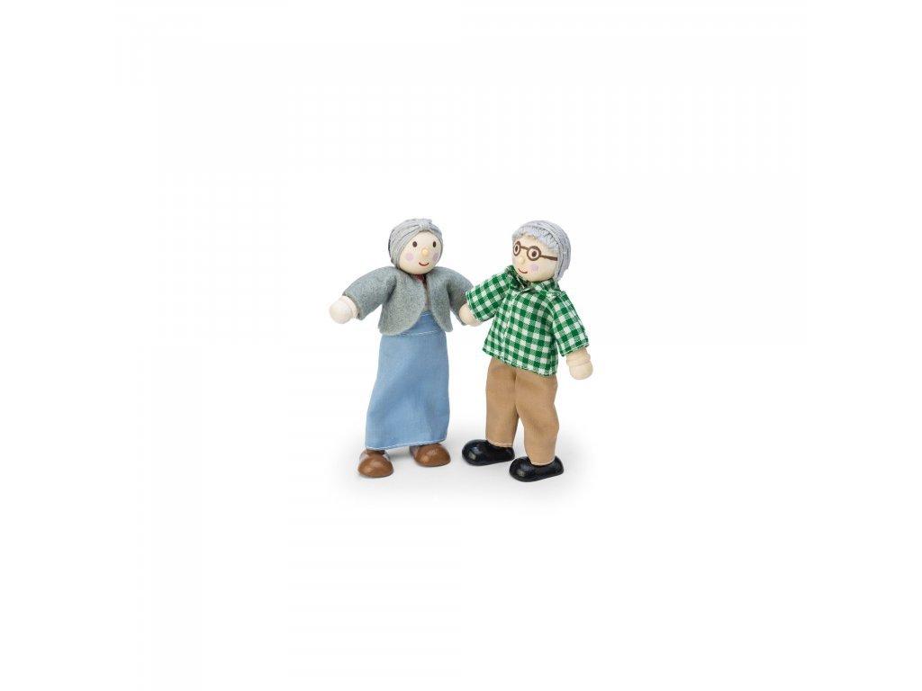 Le toy Van Babička a dedko do domčeka pre bábiky