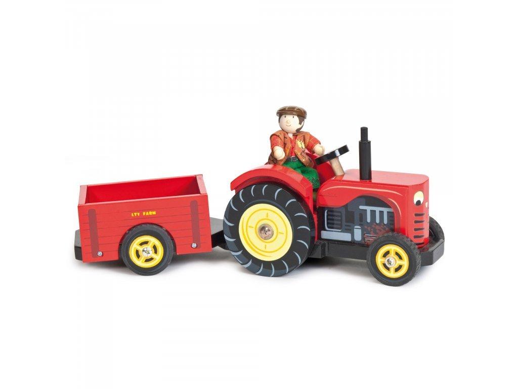 Le toy Van Červený traktor