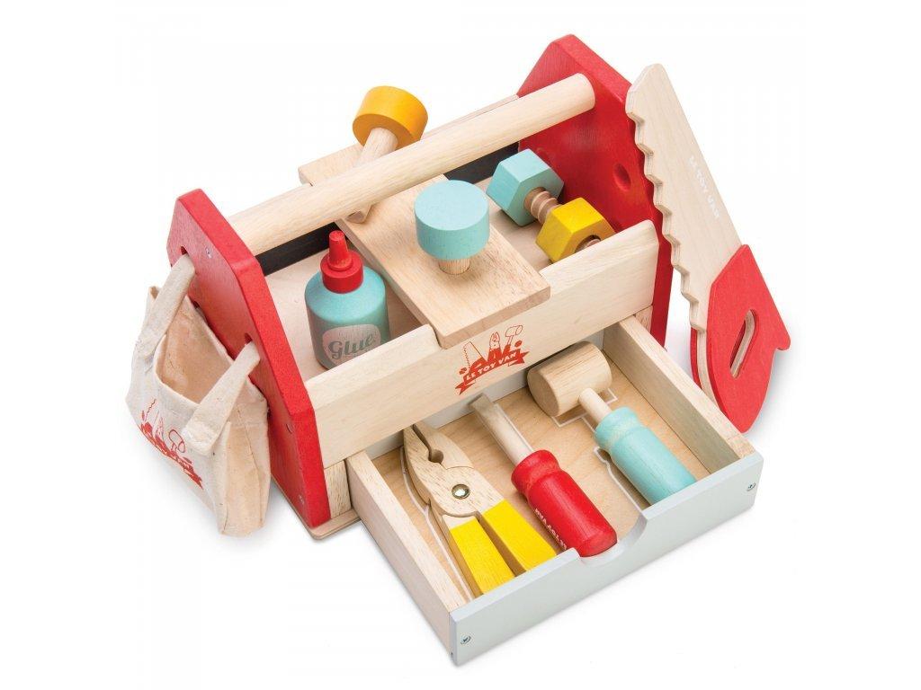 Le toy Van Drevený box s náradím