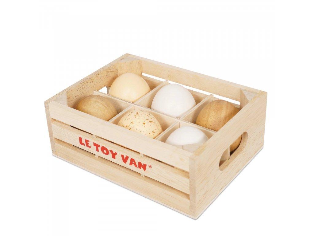 Le Toy Van Farmárska vajcia v debničke