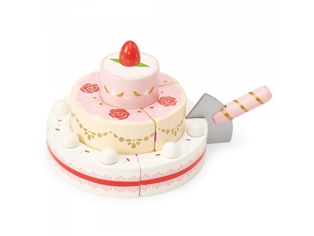 Le Toy Van Jahodová svadobná torta