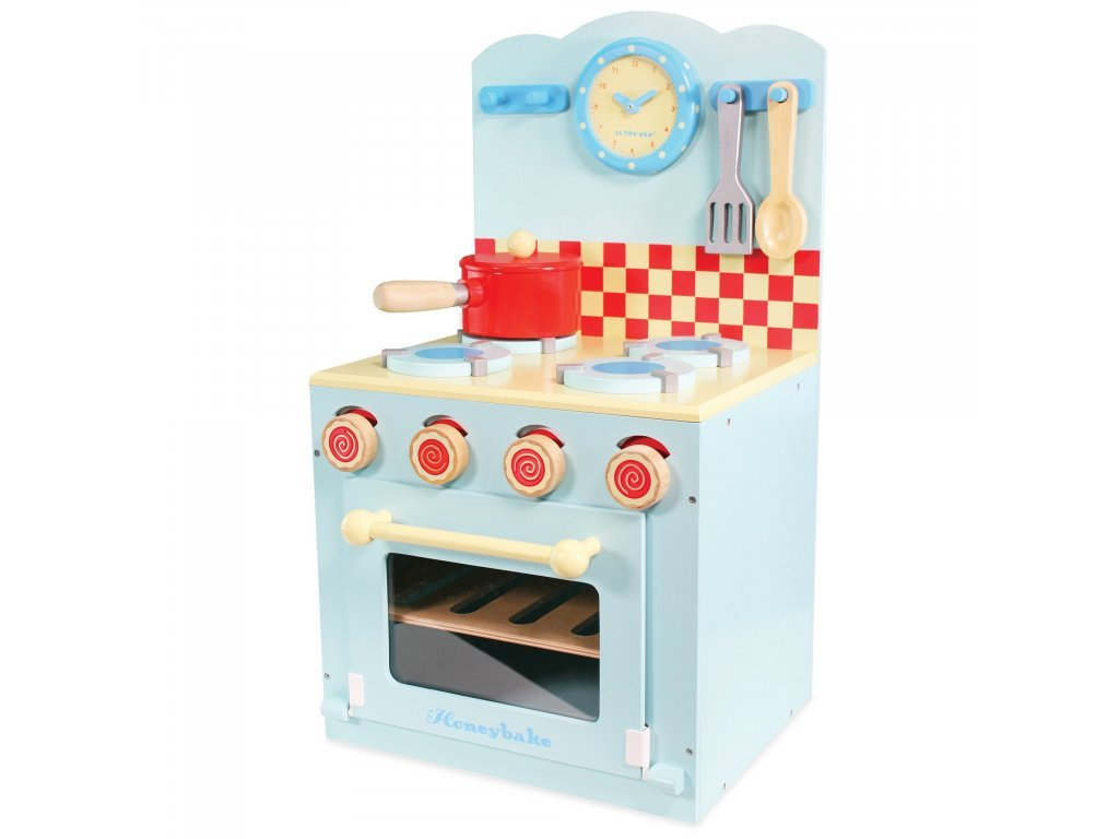 Le toy Van Kuchynka modrá Honeybake