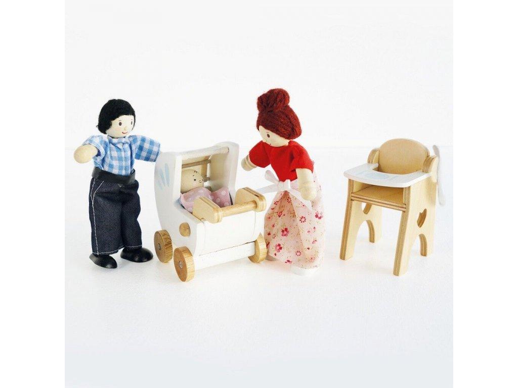 Le toy Van Bábätko do domčeka pre bábiky