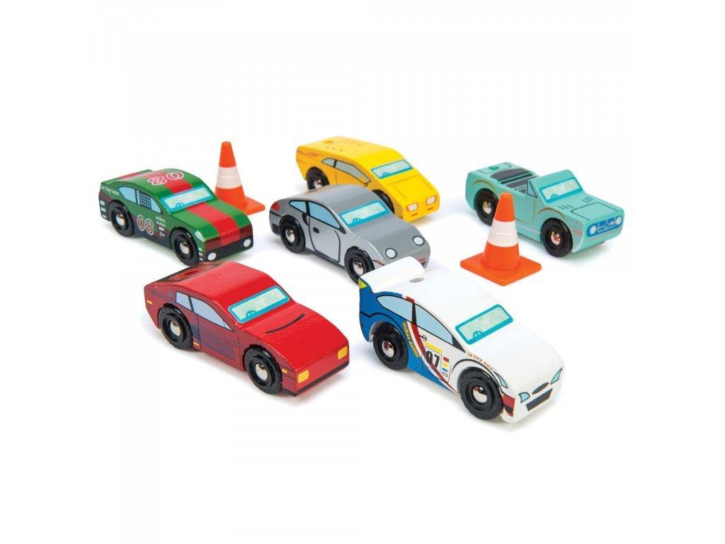 Le Toy Van Set autíčok Montecarlo Sports