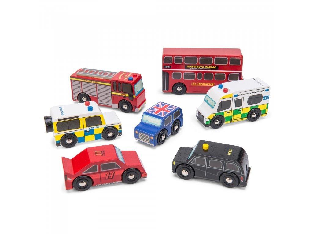 Le Toy Van Set autíčok London