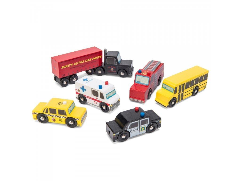 Le Toy Van Set autíčok New York