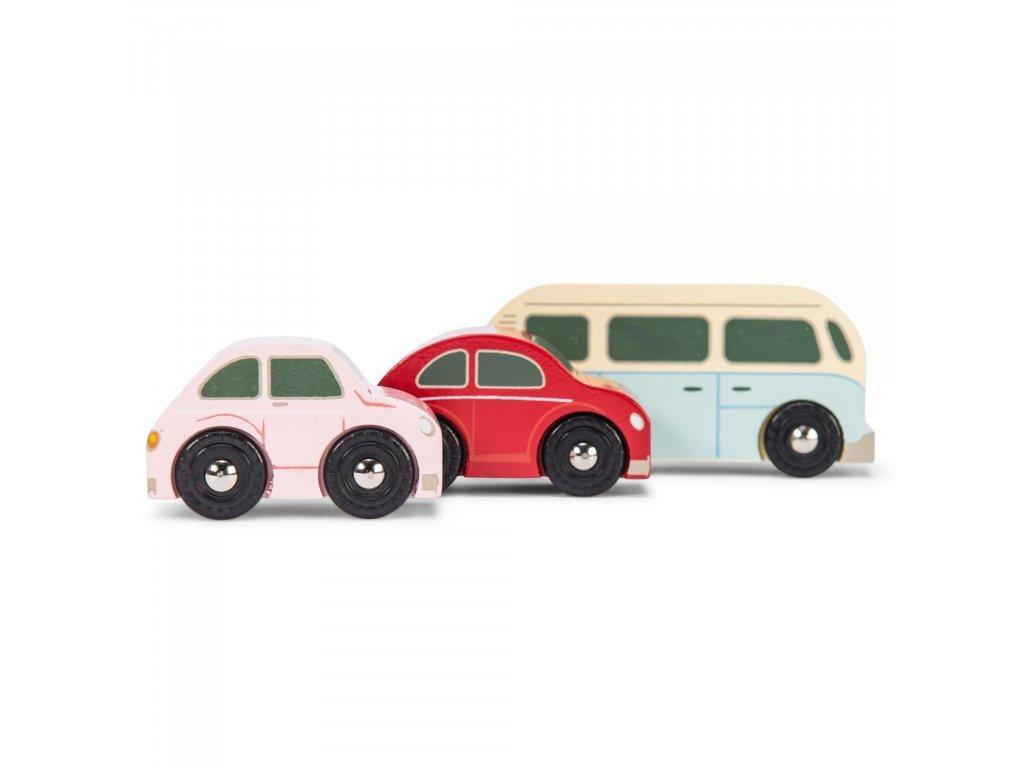 Le Toy Van Set autíčok Retro