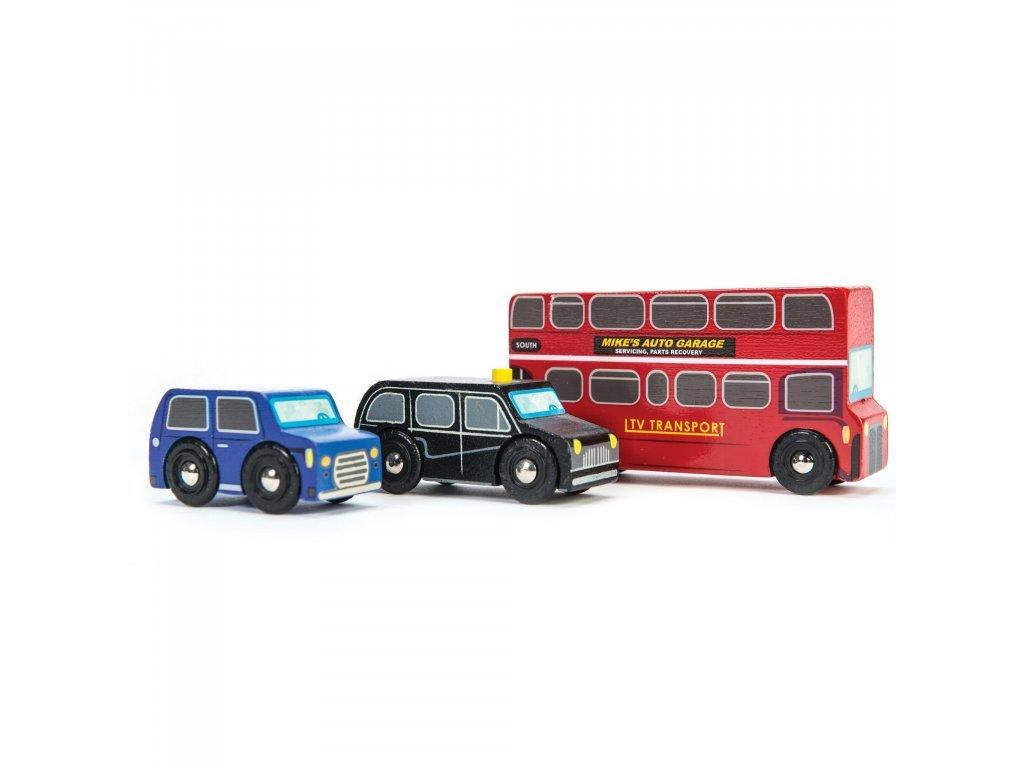 Le Toy Van Set dopravných prostriedkov London