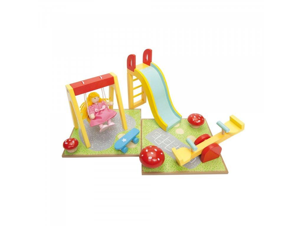 Le toy Van Vonkajšie ihrisko k domčeku pre bábiky