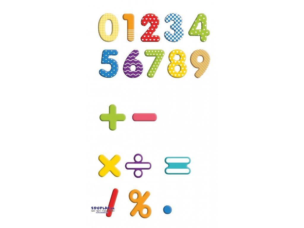 Eduplay Magnetické číslice